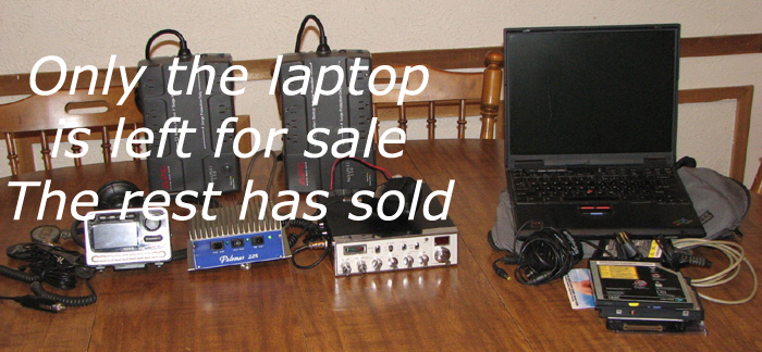 Onlt the Laptop is left for sale out of these ithems